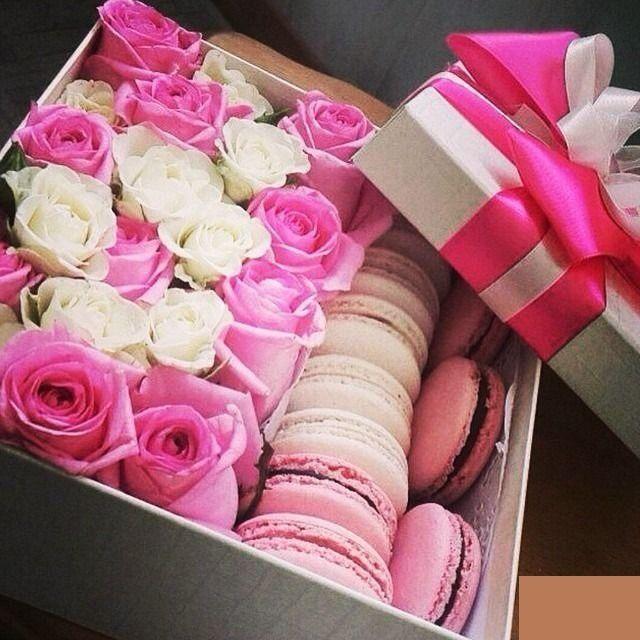 Подарок на день рождения из цветов 56
