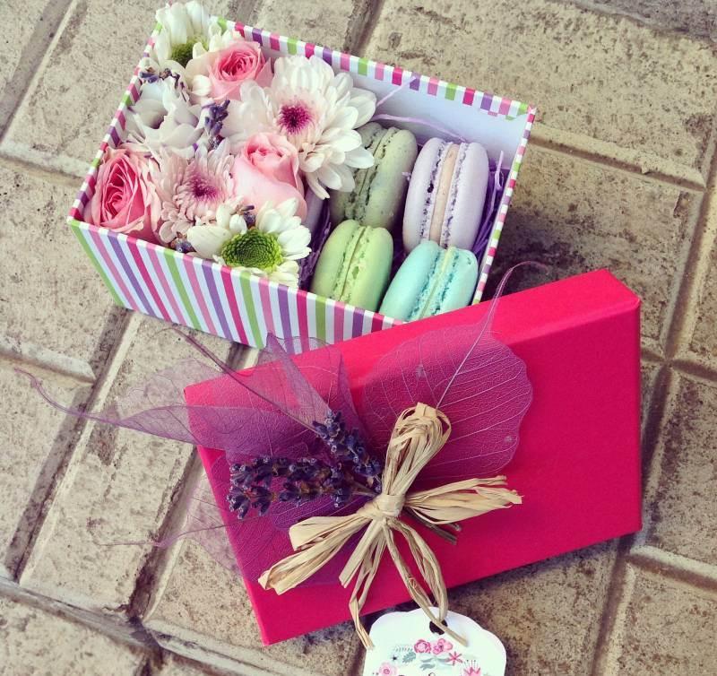 Как сделать коробочку с живыми цветами